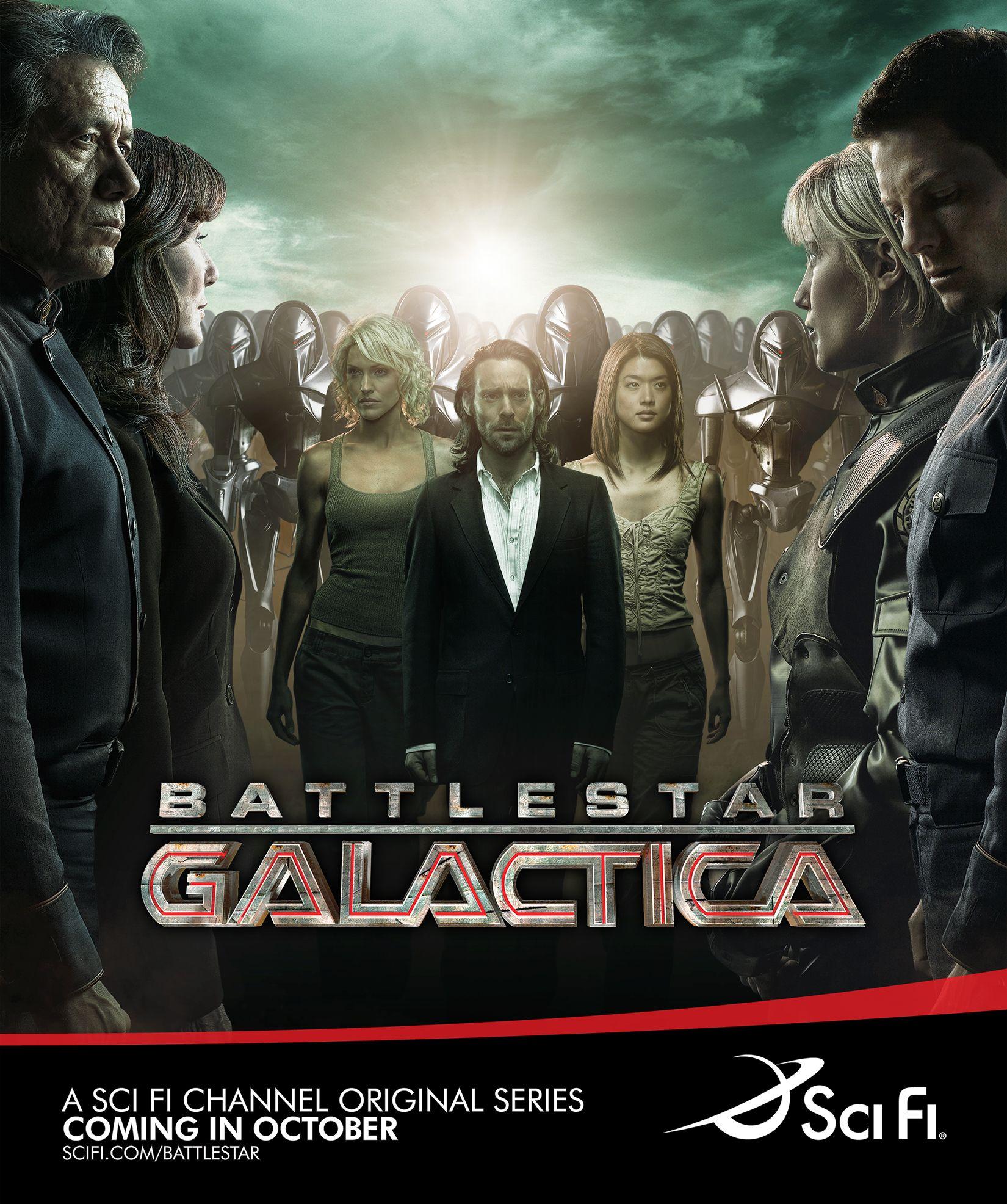 Battlestar Galactica Poster Battlestar Galactica Sci Fi Tv