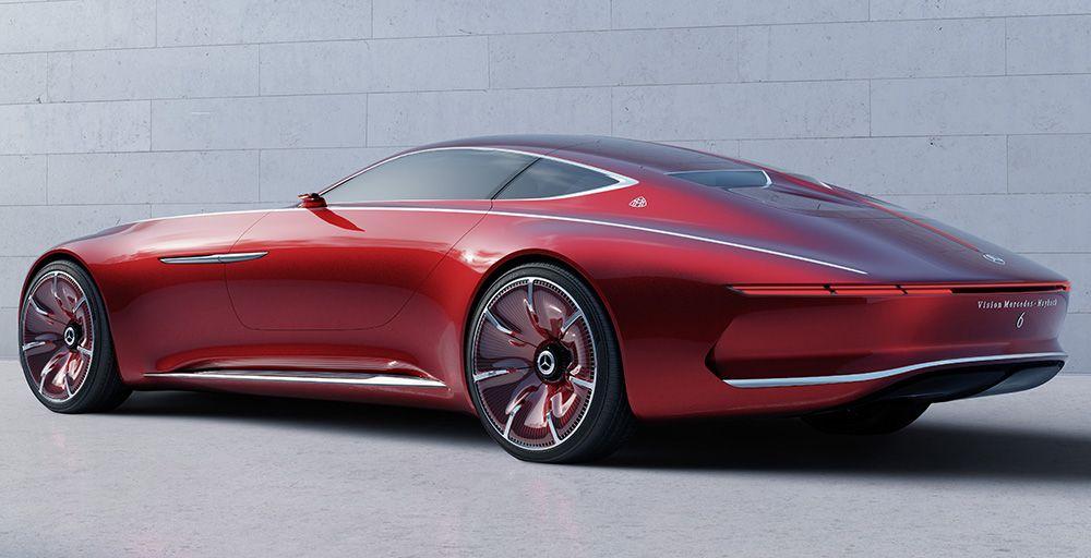 Vision Mercedes-Maybach 6 Electric Concept Coupé is Your Futuristic Retro Dream Car | AlphaLuxe – A Luxury Lifestyle Webzine