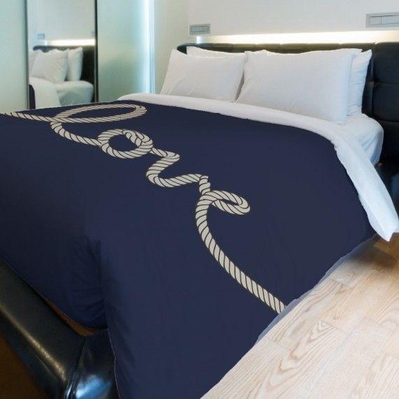 Love Rope Lightweight Duvet Cover
