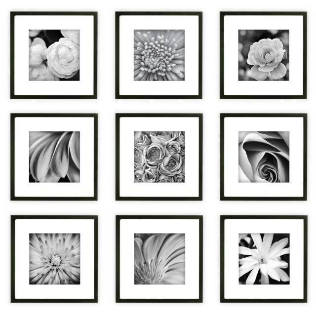 product image for Gallery Perfect 9-Piece Square Frame Kit   ..22 ...