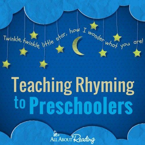 how to teach rhyming words