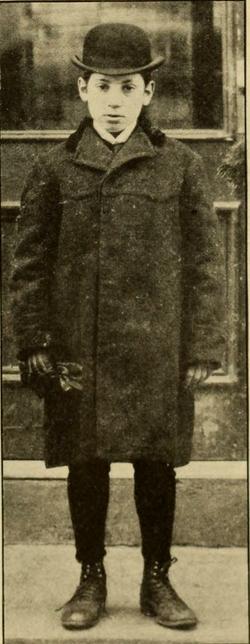Young Harpo Marx