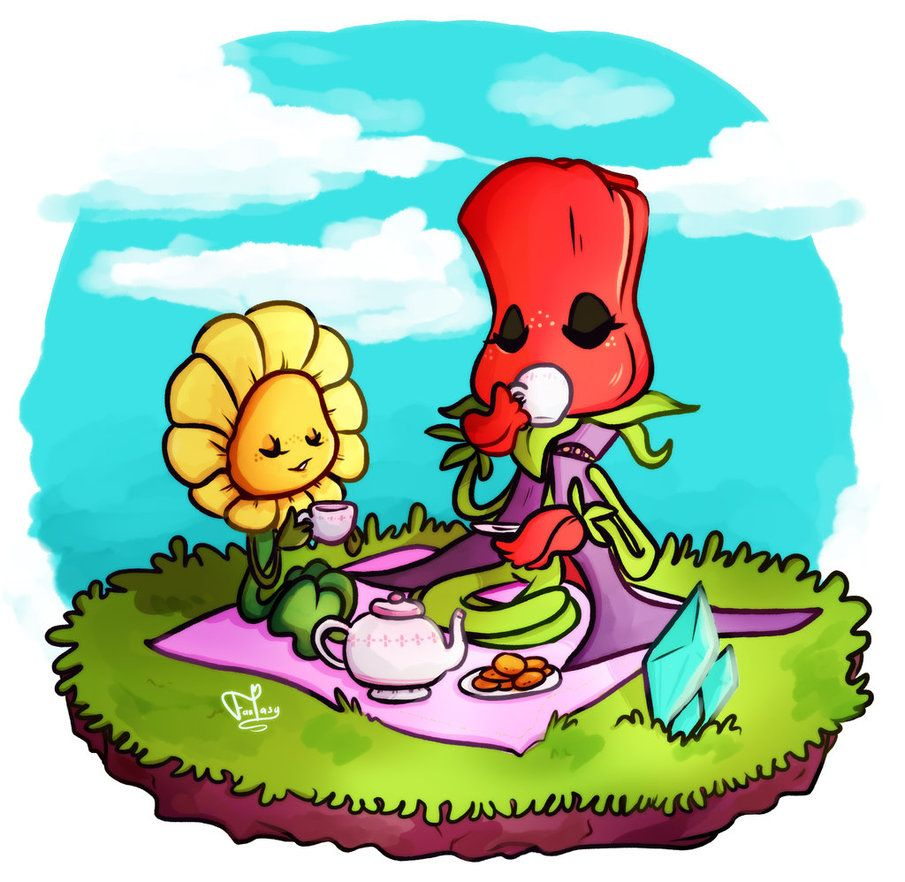 Small Tea Party by Call-Me-Fantasy on DeviantArt