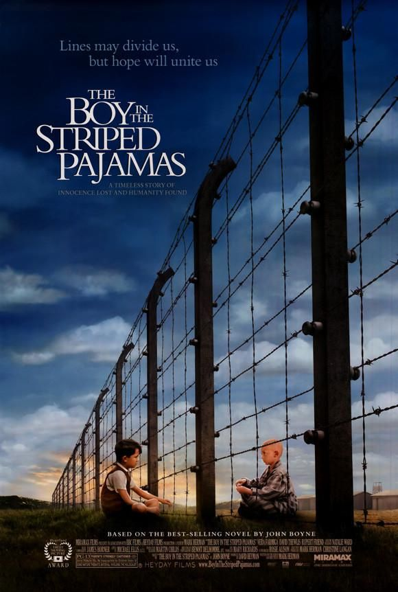 The Boy In The Striped Pajamas 27x40 Movie Poster 2008 Filmes