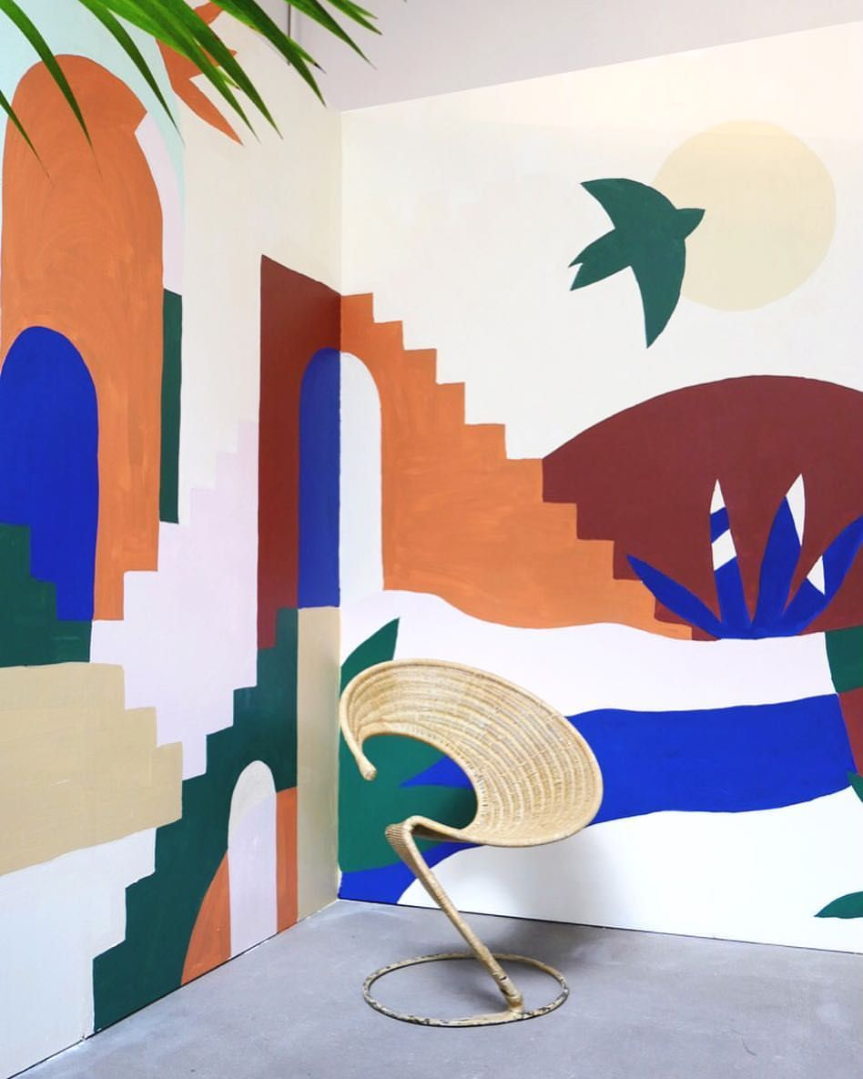 100 Fantastique Idées Peindre Une Fresque Sur Un Mur