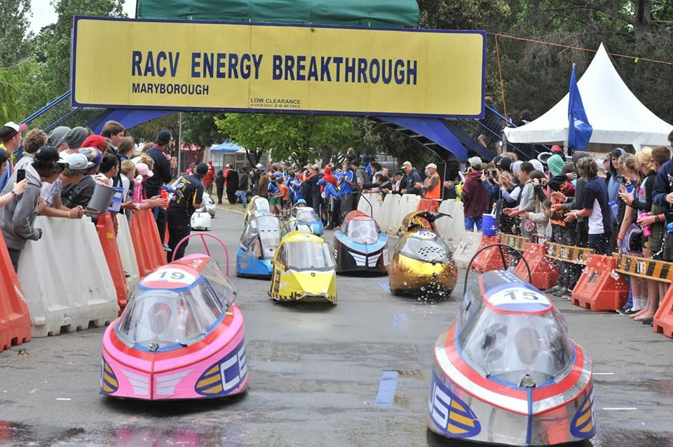 Congratulations to 2013 Maryborough RACV Energy Breakthrough on winning the Silver Award in the Festivals & Events Category at the Australian Tourism Awards!