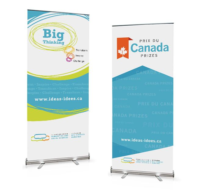 Cyan Solutions designed these pop-up banner stands for the ...
