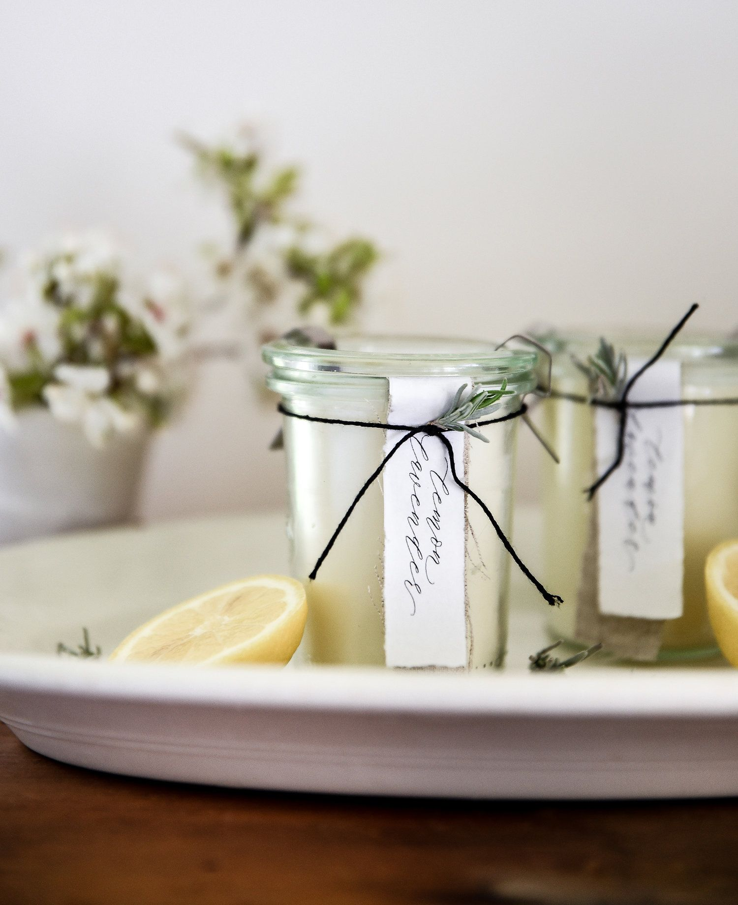 Homemade Candles with Essential Oils Homemade candles