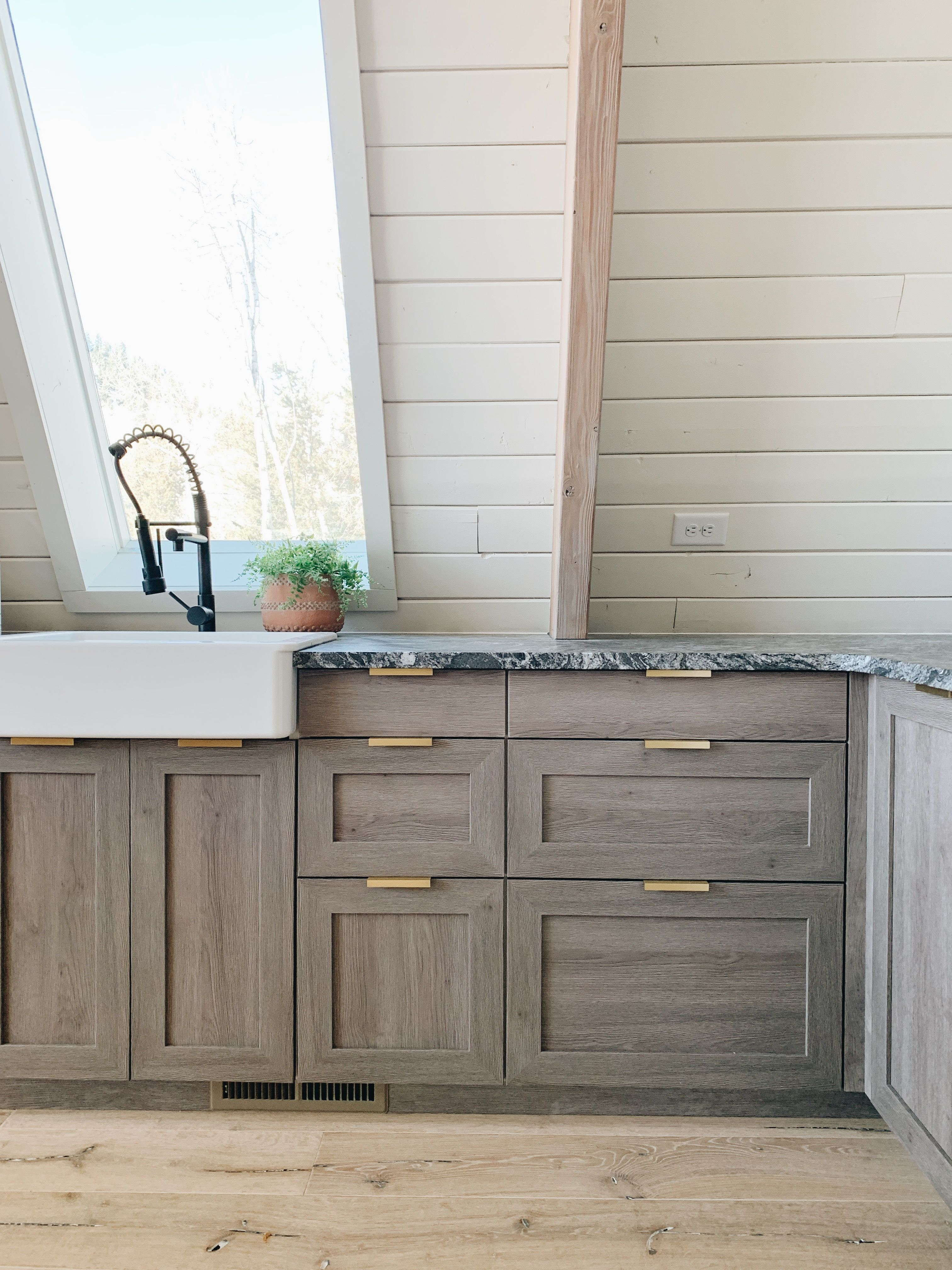 A Big Semihandmade X Chris Loves Julia Cabinet Collection Giveaway Rustic Cabinets Cabin Kitchens Custom Cabinet Doors