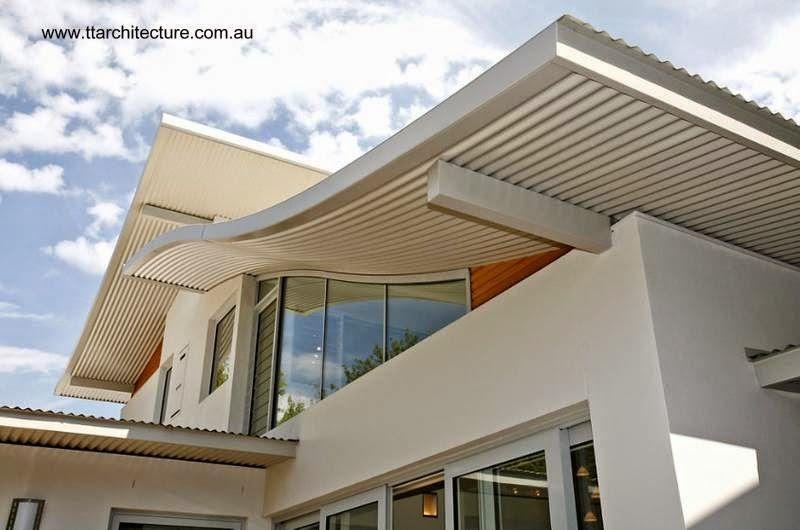 Techado de piezas curvas y flotantes aseguran ventanas para el ingreso de luz natural a toda la - Techado de terrazas ...