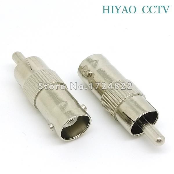 10pcs BNC Female to Female plug Coupler Connector Adapter for CCTV Camera
