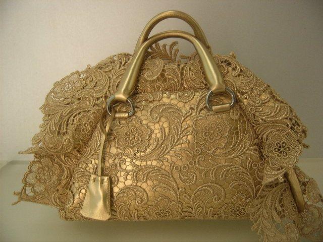 22efa0b4246d New Prada Lace Bag............thoughts?? - PurseForum | Gold | Lace ...
