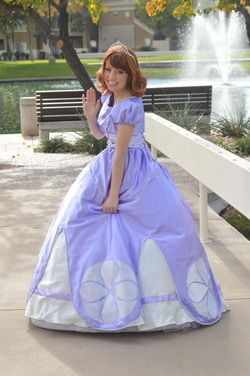 Princess Sofia Of Fairytale Events! Www.fairytaleeventsaz.com Princess And  Character Party Company