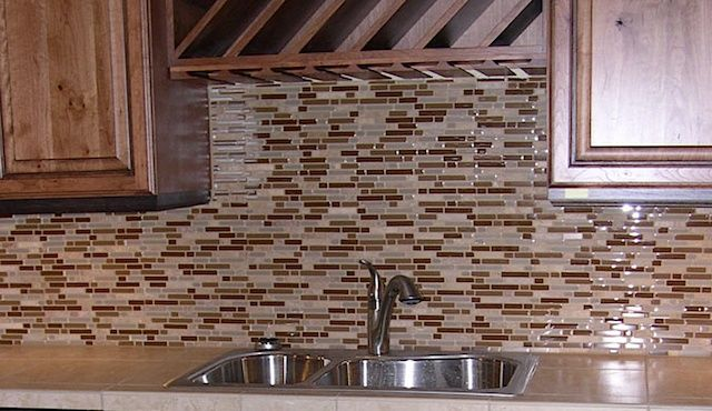 Excellent Types Backsplashes And Their Pros Cons Shower Mosaic Tile Home Interior And Landscaping Eliaenasavecom