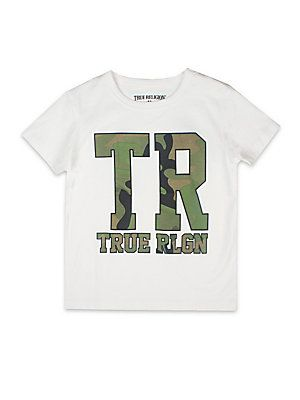 True Religion Toddler's, Little Boy's & Boy's Camouflage Graphic T