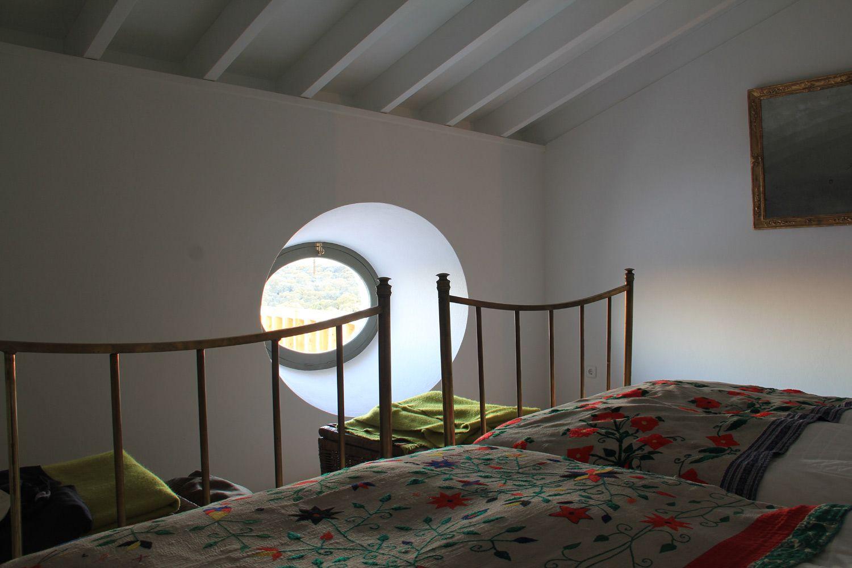 Una de las habitaciones...