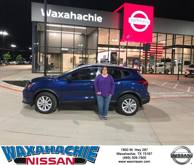 Congratulations Rita on your Nissan Rogue Sport from