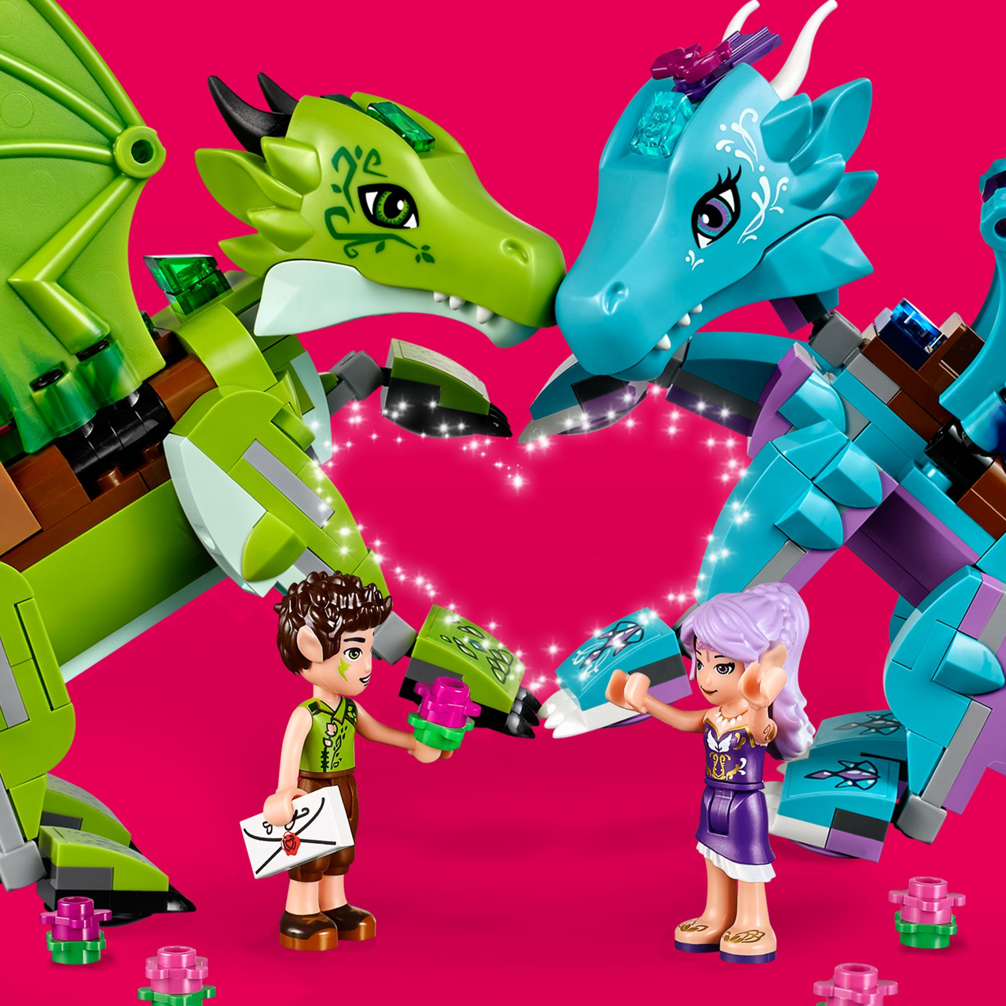 Lego Elves Valentine Hledat Googlem Lego Elves Dragons Lego Dragon Magical Creature