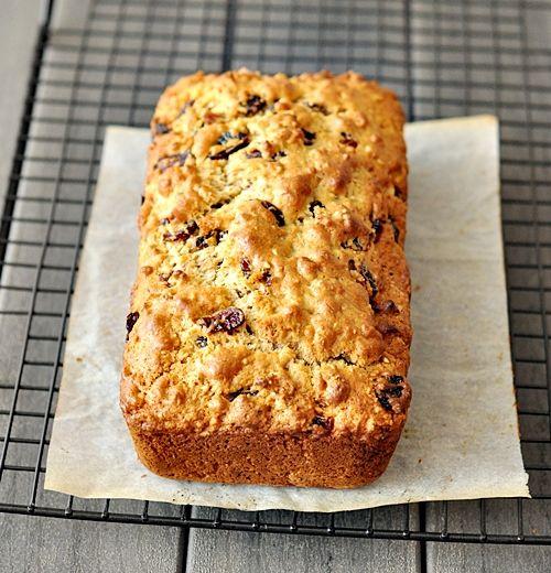 cranberry almond loaf