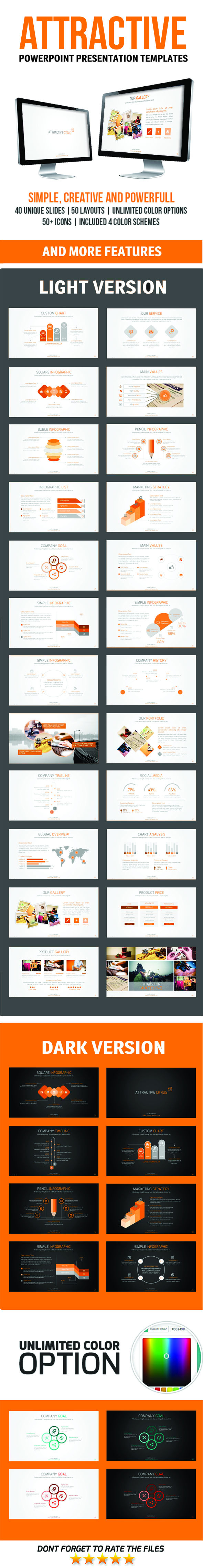 attractive powerpoint presentation template download http