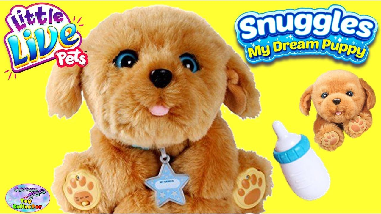 Little Live Pets Snuggle My Dream Puppy Surprise Egg And Toy