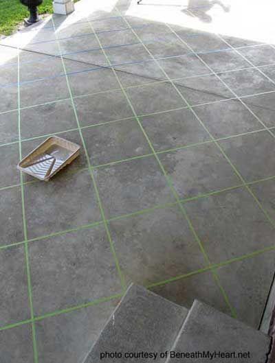 Staining Concrete Floors Concrete Patio Makeover Patio Flooring Concrete Stain Patio