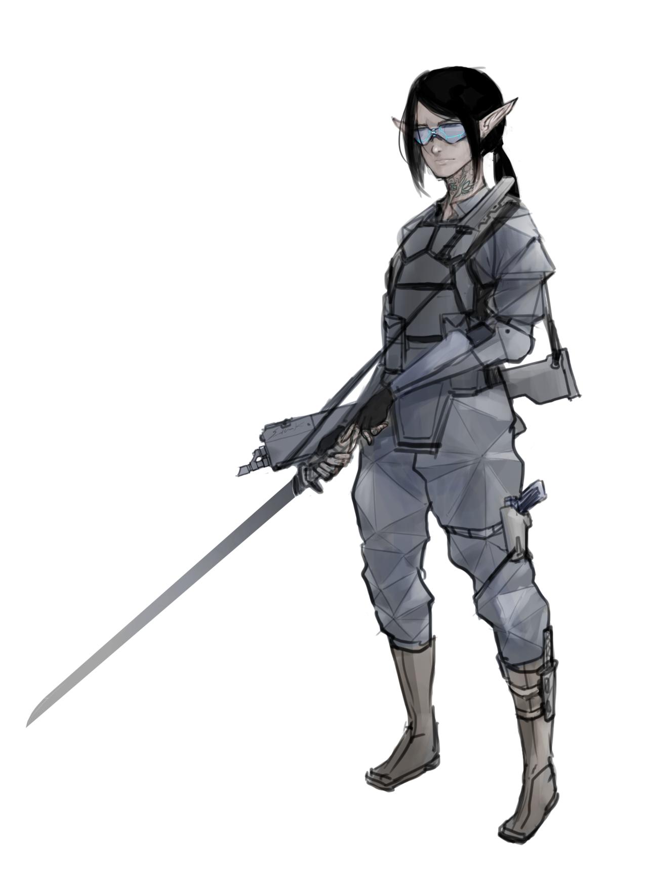Shadowrun Elf Adept Shadowrun Pinterest Shadowrun Character