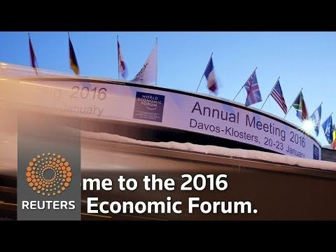 Famous Faces of the World Economic Forum 2016 - YouTube