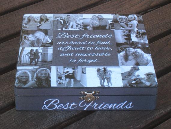 Gift for bestie Personalised inspirational Bestfriend gift Friendship keepsake Best friend gift keepsake Friend gift