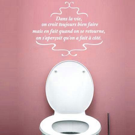 Stickers sweyn stickers citations wc d co pour la - La maison du stickers ...
