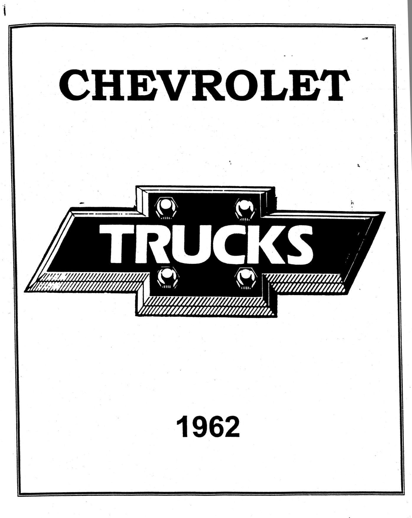 Heritagecenter Chevy Truck Manuals