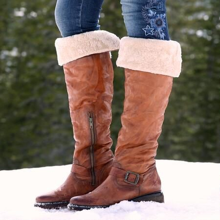 VALERIE SHEARLING BOOTS