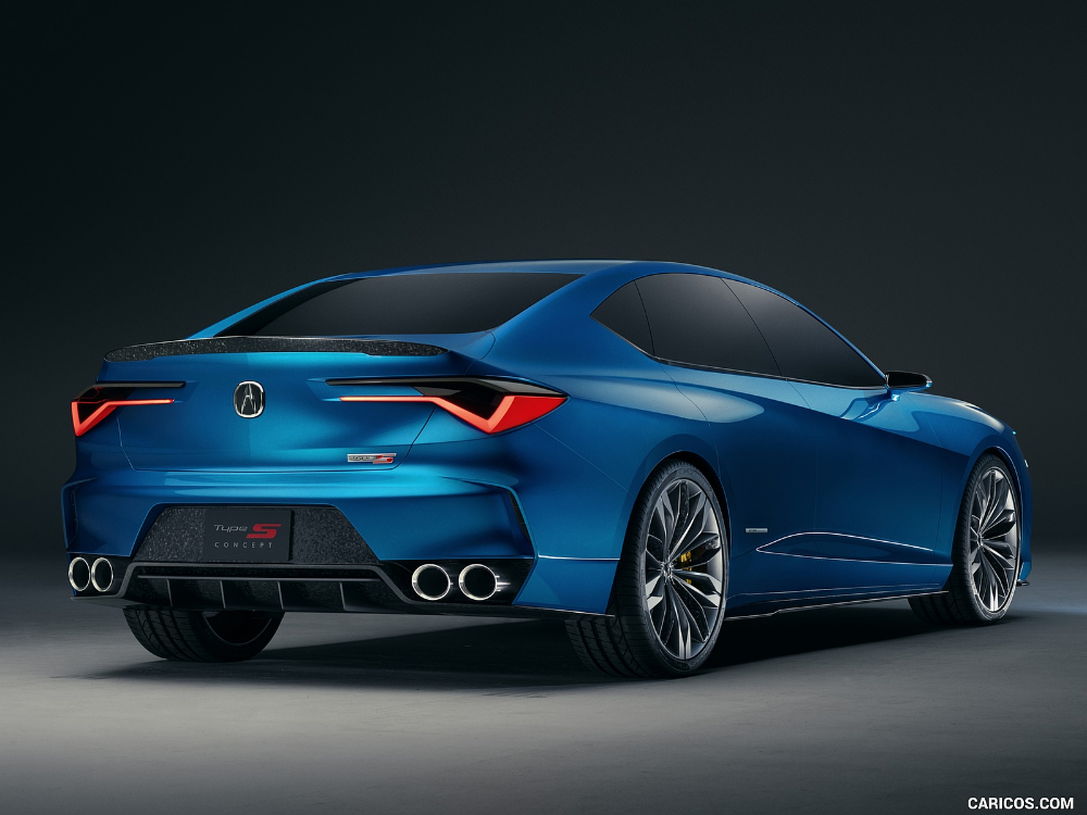 2019 acura type s concept  acura japanese sports cars