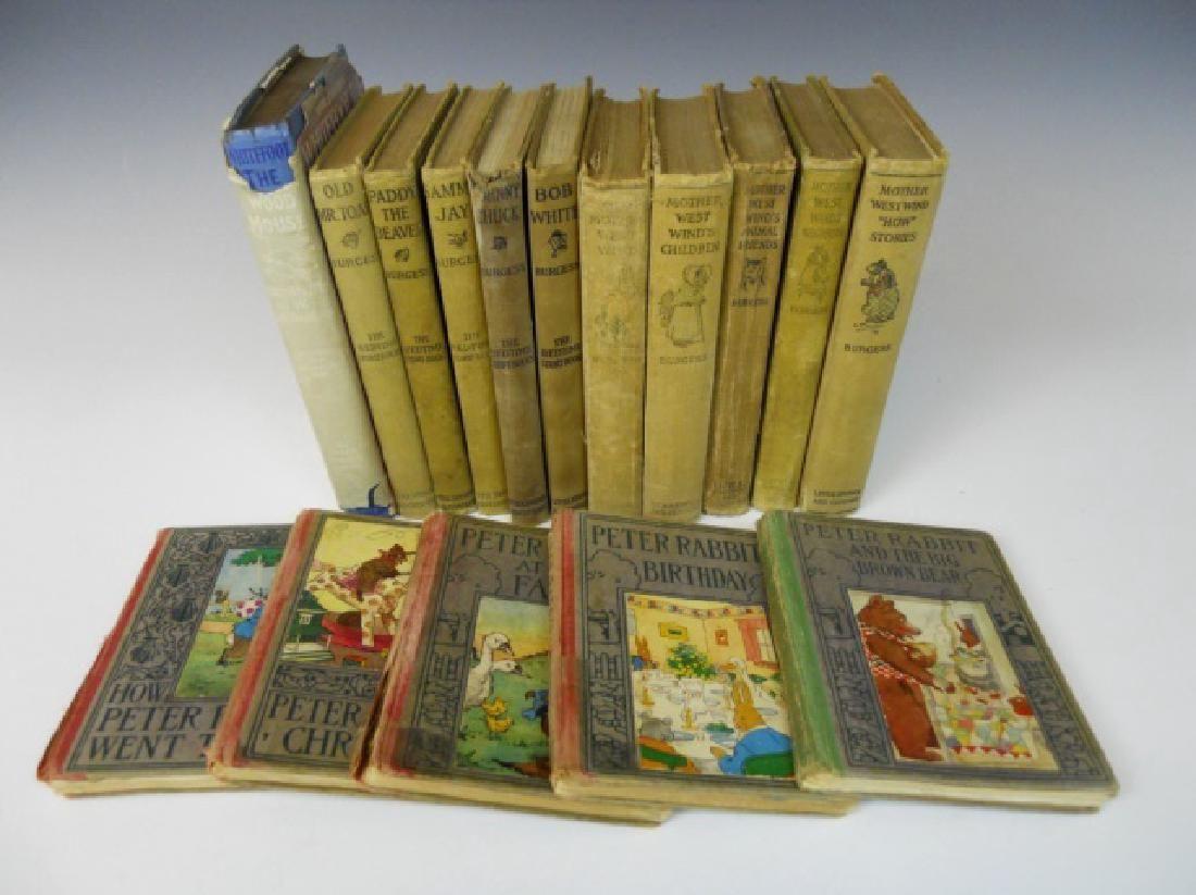 Childrens books thornton w burgess 15pc lot 0164