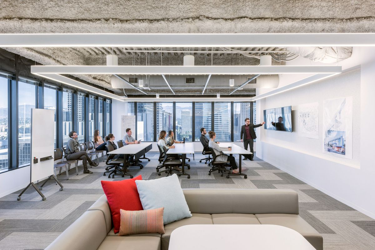 Dlr Group Offices Los Angeles Smart Office Design Firms Commercial Interiors