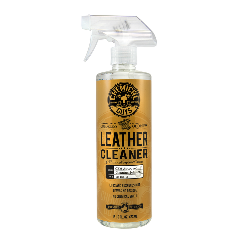 Leather Cleaner Leather Cleaning Chemical Guys Cleaning