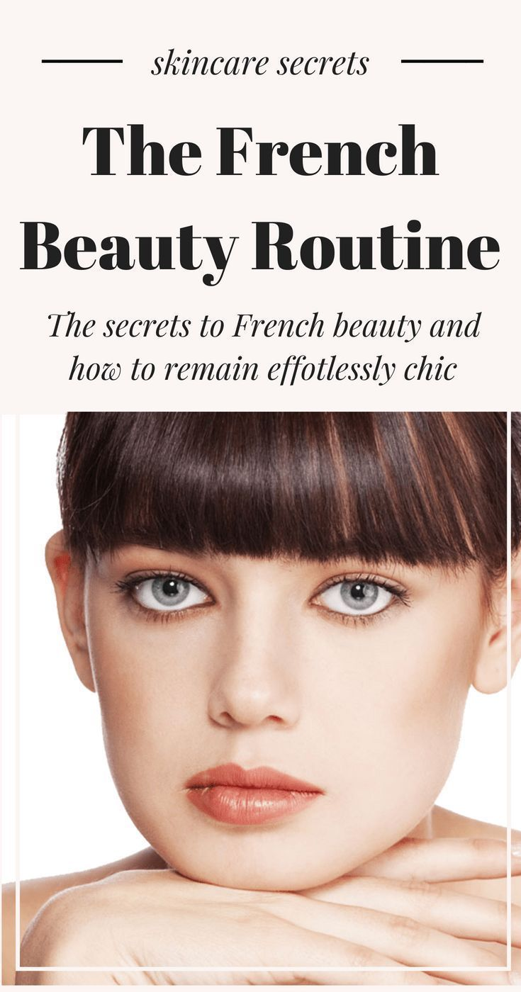 French Beauty Secrets  what you need to know for the perfect Parisian glamour and beauty Pinterest via BryJaimea