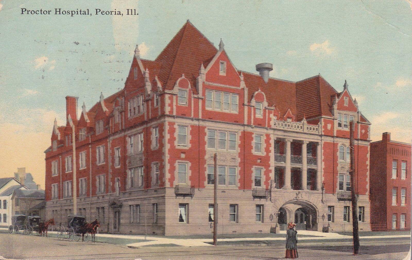old proctor hospital peoria il where i was born in 1955 peoria rh pinterest com