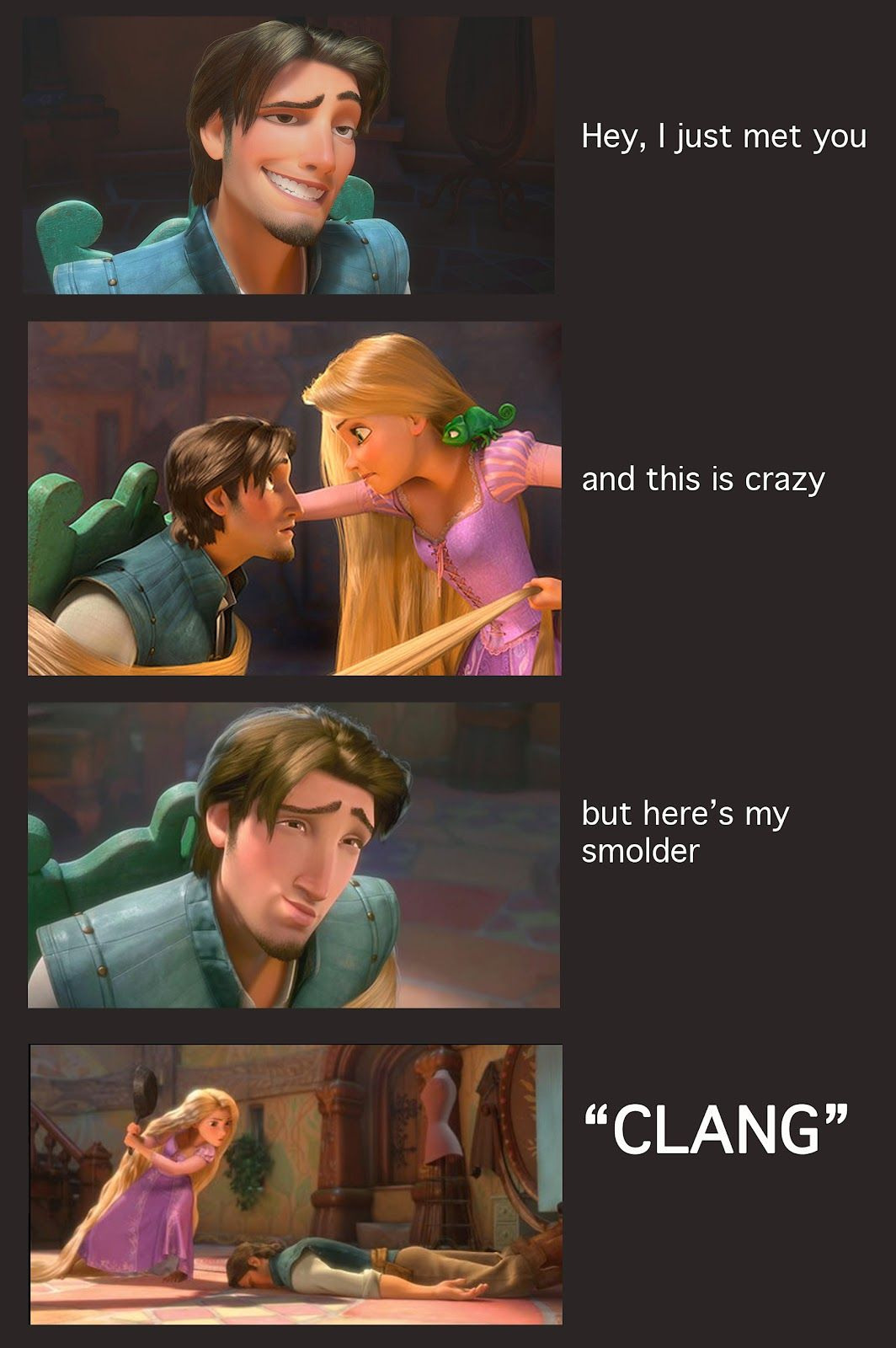 Love You More Than A Bus Tangled Maybe Disney Funny Disney Memes Funny Disney Memes