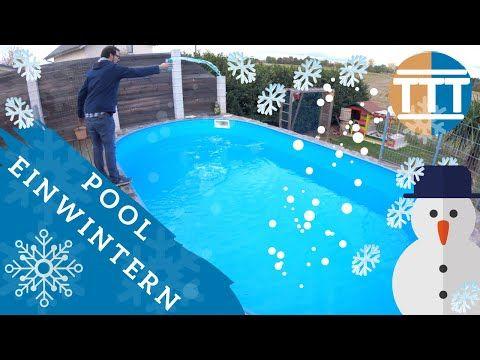 Pool winterfest machen Checkliste ☃️ ganz einfach 😊 Pool ...