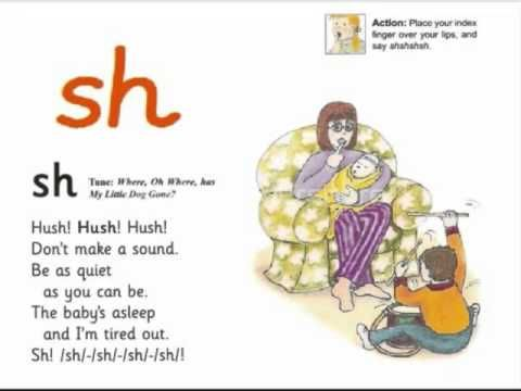 Image result for sh jolly phonics