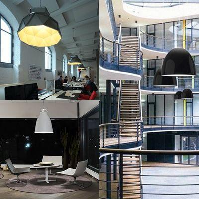 Lamparas de dise o industrial para oficinas avanluce for Diseno de iluminacion de interiores