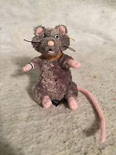 Scabbers Plush Harry Potter Rat Mouse Stuffed Animal Doll. GUND. #75409.