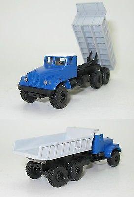 1:87 HO NEW Wismut DDR KrAZ-255B 6X6 Dumper Kipper