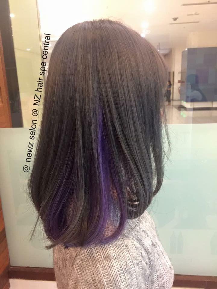 Balayage Ombre Dip Dye Two Tones Effect Balayage Ombre Dip Dye Hair Color Newz Salon Nz Hair Spa Central Johor Bahru Mal Hair Styles Balayage Hair Dye Colors