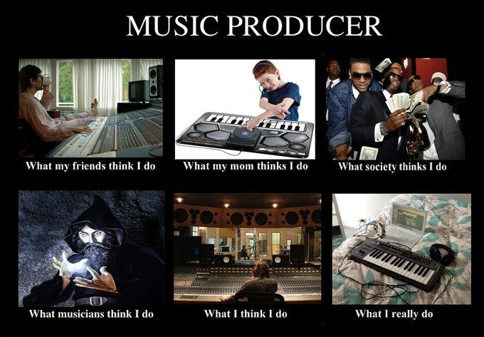 Music production and producer are the same spheres?