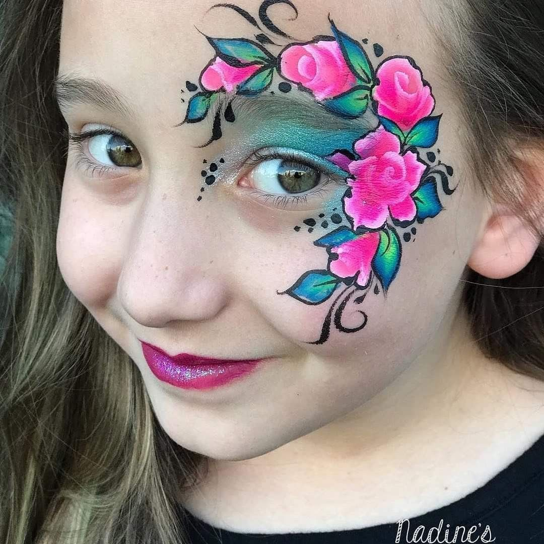 Henna By Leyla Shemesh: Pin By Tessa Loehwing On Face Paintings