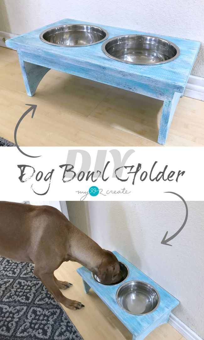 Diy Dog Bowl Holder Your Best Diy Projects Dog Bowl Stand Dog