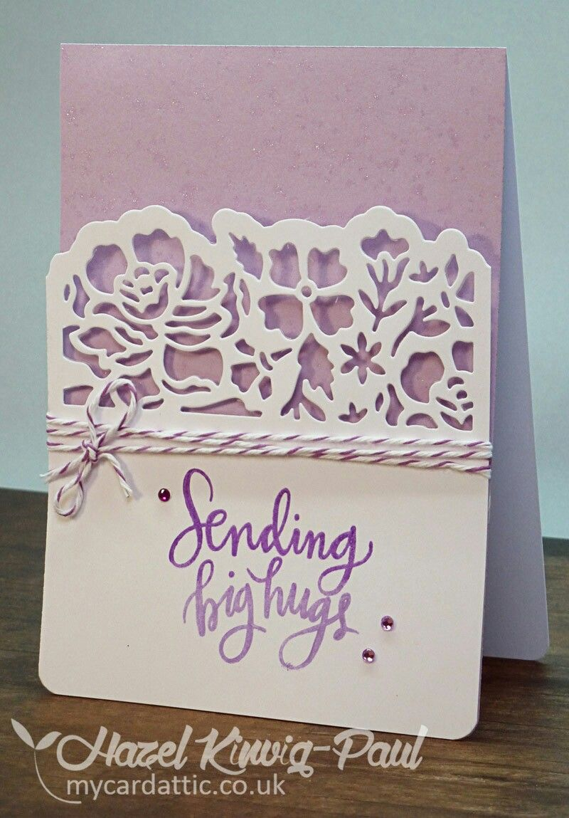 Stampin Up Detailed Floral Thinlits Cards Handmade Simple