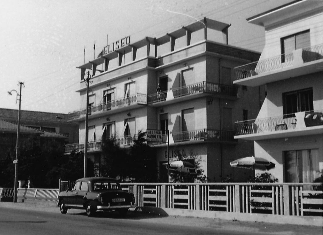 Hotel Eliseo, Bellaria Igea Marina. The beginning of the